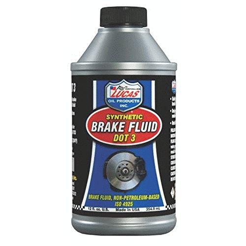 Lucas Oil 10825 Brake Fluid - 12 oz. - Fluid 3 Brake Dot