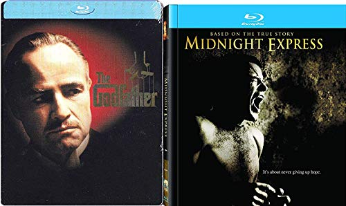 (Struggle in the Family & Prison - 2 Blu Ray Bundle: Midnight Express (Collector's Edition Book) True Story & Godfather Steelbook Limited Drama Double Feature Pack)