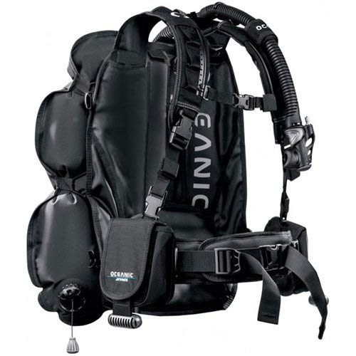 - OCEANIC JETPACK COMPLETE SCUBA DIVING TRAVEL SYSTEM BC/BCD DRY BACKPACK