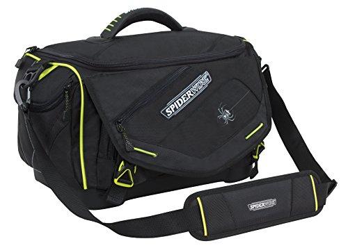 Soft Bag Tackle (Spiderwire Wolf Tackle Bag, 27.6-Liter, Black)