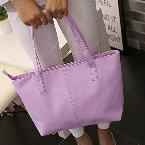 Violet showsing Handbag Sac s Femme Violet Main à pour x87wTzx