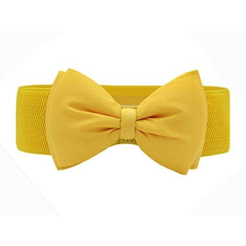 yellow belt buckle - 2