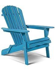 W Home Oceanic Adirondack Chair, Standard, Sky Blue