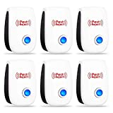 Best Ultrasonic Pest Repellers - Ultrasonic Pest Repeller 6 Pack [2018 UPGRADED] 100% Review