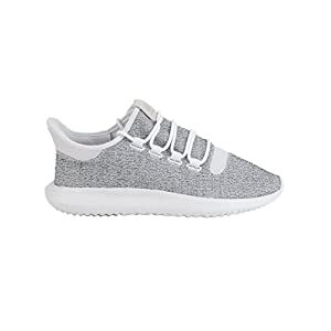 adidas Originals Men's Tubular Shadow Sneaker, White/Grey One/White, 11.5 M US