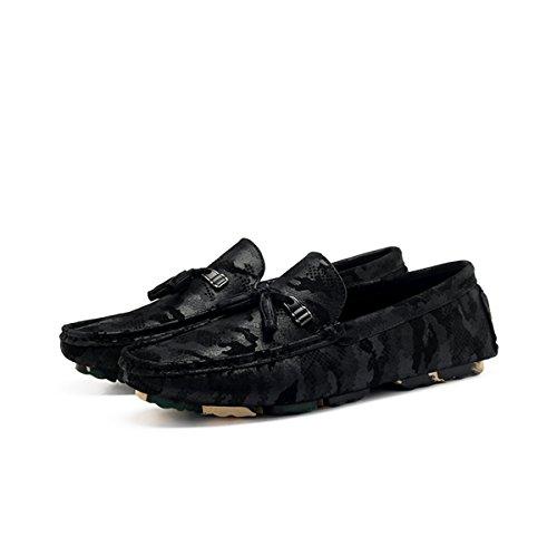 Miyoopark - zapatilla baja hombre negro