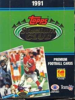 (1991 Topps Stadium Club Football box (36)