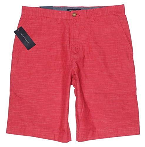 (Tommy Hilfiger Mens Academy Shorts (40, Red))