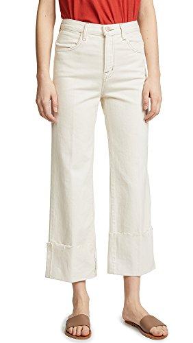 J Brand Women's Joan High Rise Crop Jeans, Macadamia, 27