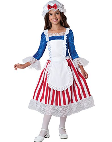 InCharacter Costumes Betsy Ross Costume, Size 8/Medium