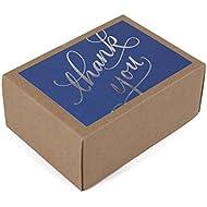Hallmark Thank You Cards (Silver Foil Script, 40 Thank You Notes and Envelopes)