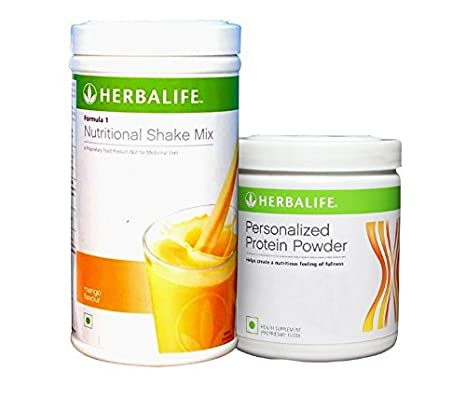 Herbalife Formula 1 Shake 500 G Weight Loss Mango Protein Powder 200 G