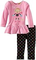Watch Me Grow! by Sesame Street Baby-girls Newborn 2 Piece Monkey Dress and Legging