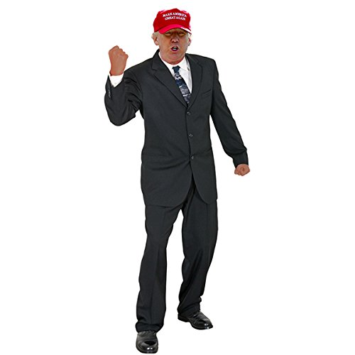 Wet Paint Printing + Design H38009V2 Donald Trump Red Hat Cardboard Cutout Standup]()