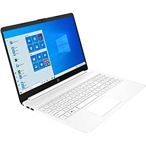 HP 15 Series 15″ Laptop Intel Core i3 4GB RAM 256GB SSD Snow White – 10th Gen i3-1005G1 Dual-core – SVA, BrightView Panel Display – 6.5mm Micro-Edge Bezel Display – Windows 10 Home – 11 hr 30 min