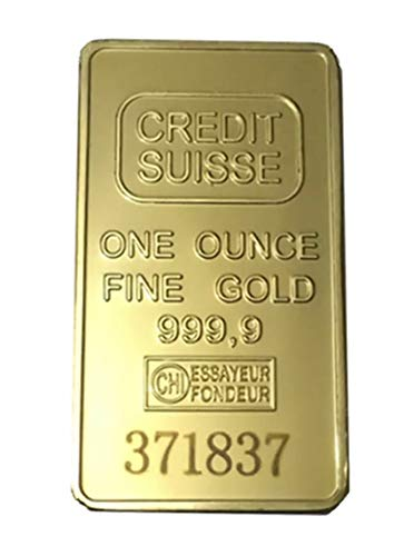products 4 lyfe Collectible OR Good AS A Gift (Credit Suisse) 1 oz Gold Layered bar