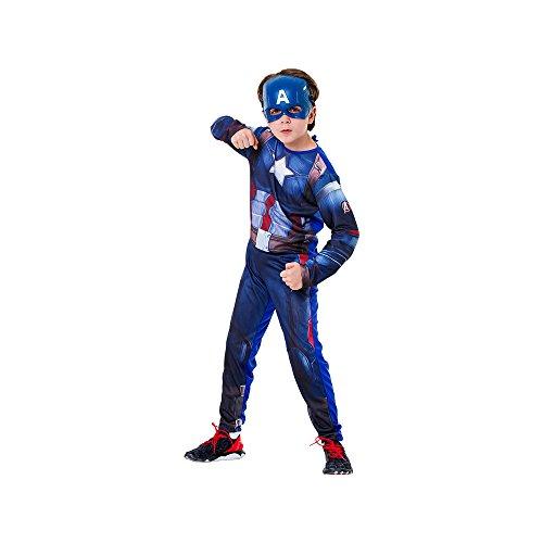 Regina 107938.7, Fantasia Avengers Capitão América Clássica Longa, Multicor