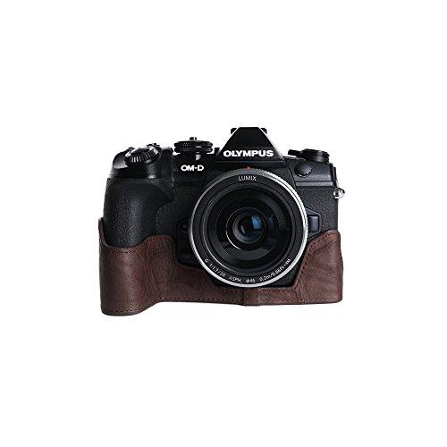 Olympus Slim Leather Case - BolinUS Handmade Premium Genuine Camera