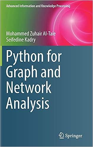 Amazon com: Python for Graph and Network Analysis (Advanced
