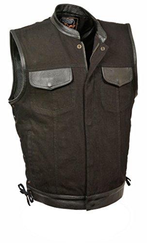 Zipper Leather Vest - 6