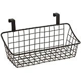 Spectrum Diversified 56124 Over-The-Cabinet Door Grid Basket, Small, Bronze
