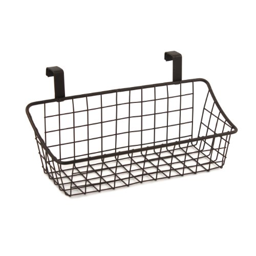Spectrum Diversified Grid Storage Basket, Over the Cabinet Door, Small, - Com Locations Spectrum