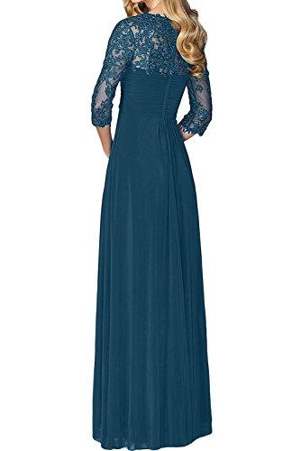 Blu Navy Linea Vestito Ad A Donna Topkleider fgawn
