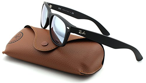 New Mirror green 622 Wayfarer ban Rb2132 Lens Rubber Silver Unisex Ray Sunglasses Frame 30 Black qEvgOwwCx