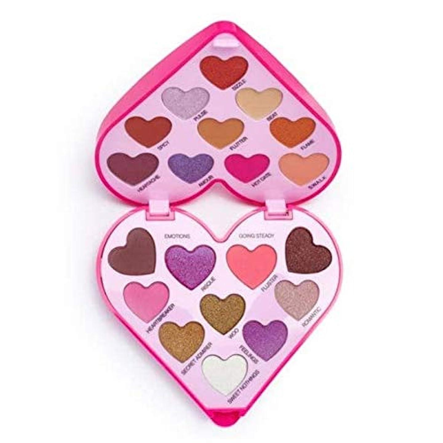 眩惑する本質的に記念日[I Heart Revolution ] 私は心の革命のハートビートアイシャドウパレット - I Heart Revolution Heartbeat Eye Shadow Palette [並行輸入品]