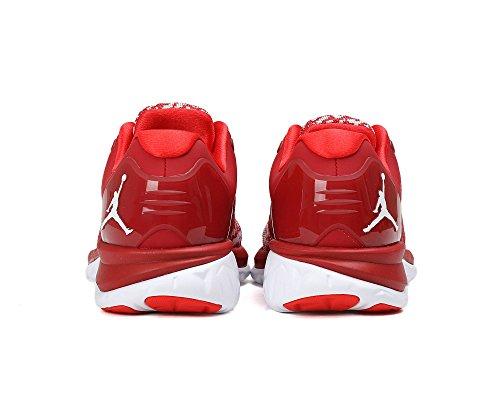 Nike Jordan Trainer St, Zapatillas de Baloncesto para Hombre Rojo (Gym Red / White-Lt Crimson)