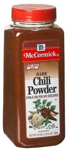McCormick Chili Powder, Dark (no Msg), 20-Ounce Units (Pack of 2)