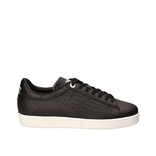 Emporio Armani EA7 Sneakers Basse Unisex 248028 CC229 00020 - Nero, 36 EU