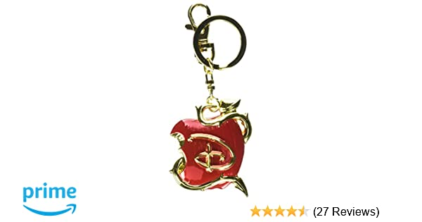 Disney Descendants Logo Colored Pewter Key Ring