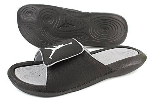 Nike Youth Jordan Hydro 6 Synthetic Sandals Schwarz Grau