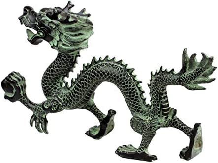 Chinese  Exquisite Bronze Dragon Statue