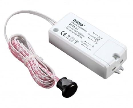 Mini-sensor de movimiento para contacto Interruptor para muebles y techo: Amazon.es: Hogar