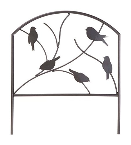 万能薬製品84564 Perching Birds Borderフェンス18 x 16 in。 – パックof 12   B07BKTY2WW