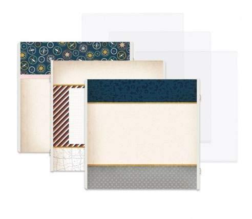 Creative Memories 12x12 Gallivant Travel Dark Blue Complete Fast2Fab Bundle Kit
