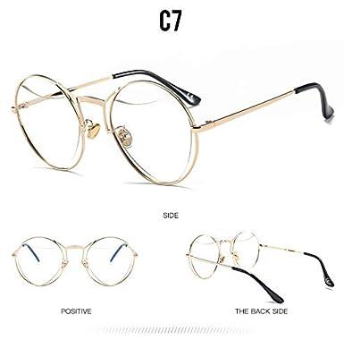 YLNJYJ Hollow Heart-Shaped Sunglasses Men Women Fashion Shades Uv400 Vintage Glasses