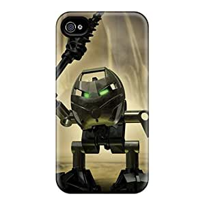 6 Scratch-proof Protection Cases Covers For Iphone/ Hot Angry 3d Robot Phone Cases