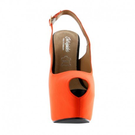 Intrepides Shoes - Lola Orange - 38