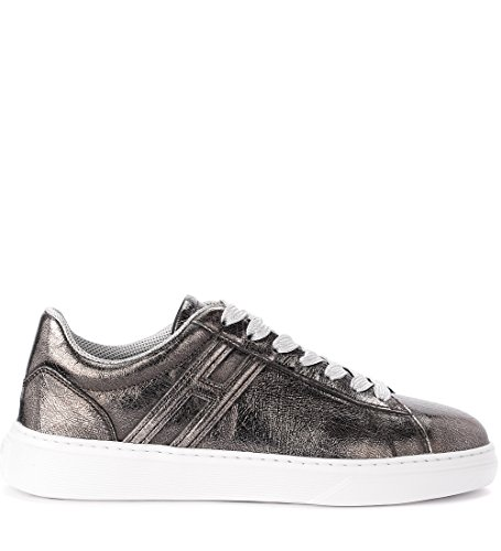 Sneaker Silver Hogan Metal Lead H365 Leather IxXpw6qgX