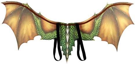 AWANSJ Accesorios de decoración de Halloween 4d Máscara de dragón ...