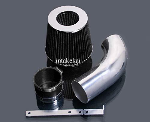 PERFORMANCE SHORT RAM AIR INTAKE KIT + FILTER FOR 2005-2007 VOLKSWAGEN GOLF GTI 2.0 & 2006-2008 VW JETTA PASSAT AUDI A3 2.0L L4 Turbocharged ENGINE (BLACK)