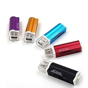 Amazon.com: Multi Todos en 1 Micro USB 2.0 adaptador de ...