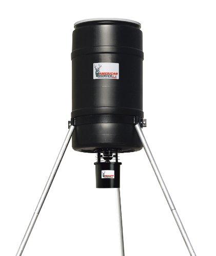 American Hunter 225-Pound Tripod Feeder Water-Resistant-Kit Pro and Varmint Buster (Black, Medium)
