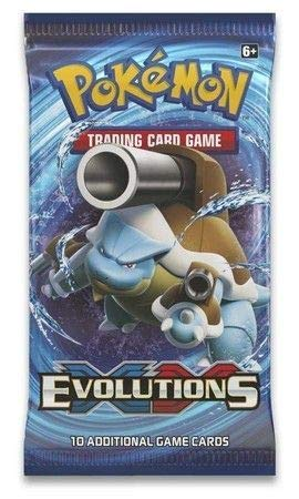 (Pokemon TCG: XY Evolutions, A Booster Pack Containing 10 Cards Per Pack with Over 100 New Cards to Collect)