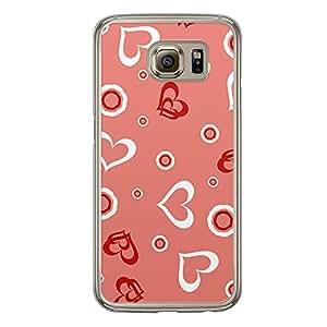 Loud Universe Samsung Galaxy S6 Love Valentine Printing Files A Valentine 127 Printed Transparent Edge Case - Pink