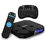 Android 7.1 TV Box, ABOX A1 Max Android TV Box with 2GB RAM 16GB ROM, Quad Core, A53 64bits, Bluetooth 4.0, with Mini Keyboard