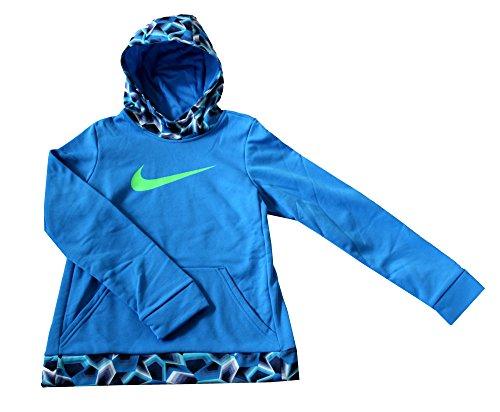 Nike Youth Girls' Therma Training Hoodie Blue 860094 435 (XL 18)